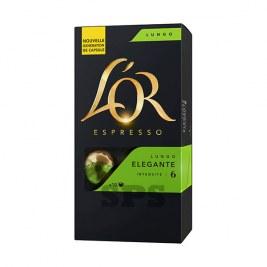 Lungo Elegante L'Or Capsules compatible Nespresso