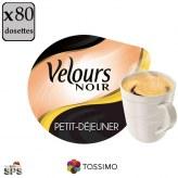 Petit Déj Velours Noir x5
