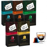 Pack Carte Noire Compatible Nespresso                      N6 N7 N8  N10 et Lungo