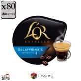 Decaffeinato L'Or Espresso x5                TASSIMO