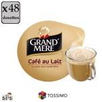 """Café au Lait """"Grand'Mère"""" x3              TASSIMO"""