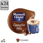 Cappuccino goût Choco x3              TASSIMO
