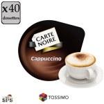 """Cappuccino """"Carte Noire"""" x5              TASSIMO"""