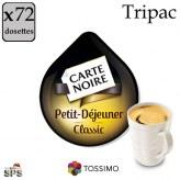 Petit-Déjeuner Classic Tassimo x72  TRIPAC
