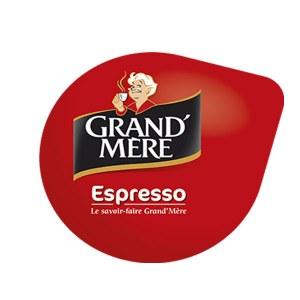 Espresso x16 dosettes TASSIMO Grand mère