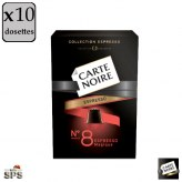 Carte Noire n°8                                            Compatible Nespresso