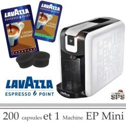 Machine EP Mini + 200 Cafés