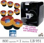 Machine LB951 Offerte pour 800 Cafés