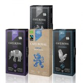 Pack Evasion  Café Royal                 India-Colombia-Ethipia- Lungo bio  Compatible Nespresso