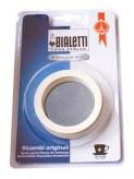 3 joints + 1 filtre pour machine à café BIALETTI 4 tasses