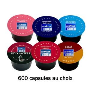 600 Capsules au choix -24%