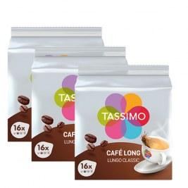 Café long Classic x48 dosettes TASSIMO by Tassimo