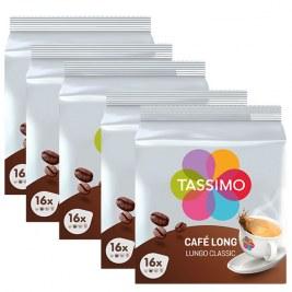 Café long Classic x80 dosettes TASSIMO by Tassimo