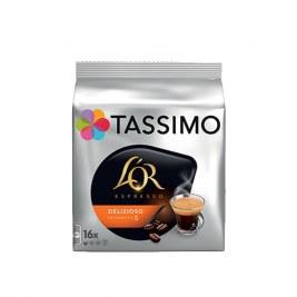 Delizioso x16 dosettes TASSIMO L'Or Espresso