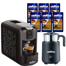 Offerte pour 600 cafés EP mini NOIRE + Cappuccinatore