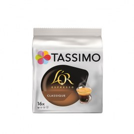 Espresso Classic x16 dosettes TASSIMO L'Or Espresso