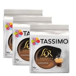 Espresso Classic x48 dosettes TASSIMO L'Or Espresso