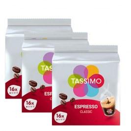 Espresso Classic x48 dosettes TASSIMO by Tassimo