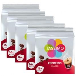 Espresso Classic x80 dosettes TASSIMO by Tassimo