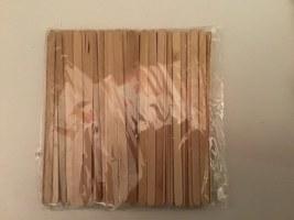 Spatules bois x100