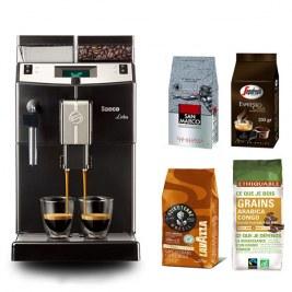 Lirika Black + Pack café grain 500gr Voix de la terre - 250gr san amrco - 250gr Casa - 250gr Congo