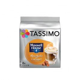 Macchiato Caramel x8 dosettes TASSIMO Maxwell House