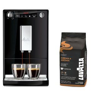Caffeo Solo Noir +1kg Grain Crema Aroma Lavazza