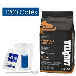 Pack Café grains & Accessoires 1200 boissons