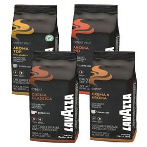 Pack Café Grain Lavazza x4 Crema Classica-Crema a aroma-Aroma Piu-Aroma Top