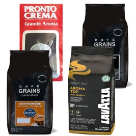 Pack Café Grain Pronto crema - Top - Gastronome - Grand'Arome