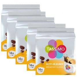 Petit Déjeuner x80 dosettes TASSIMO by Tassimo
