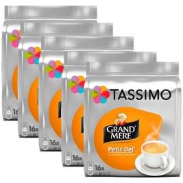 Petit déj x80 dosettes TASSIMO Grand Mère