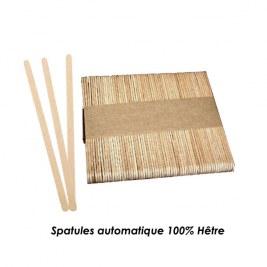 Spatules en bois x100 recyclable